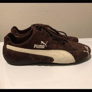 Puma Brown Suede Shoes
